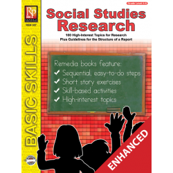 Social Studies Research Projects (Enhanced eBook)