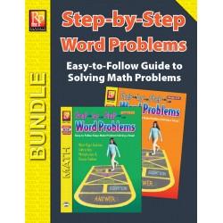 Step-by-Step Word Problems (Bundle)