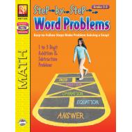 Step-by-Step Word Problems - Grades 2-3 (eBook)