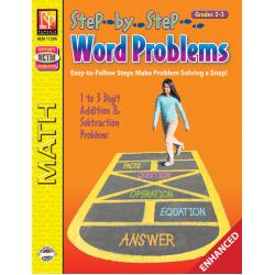 Step-by-Step Word Problems - Grades 2-3 (Enhanced eBook)