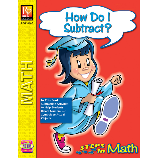 How Do I Subtract? - Steps in Math (eBook)