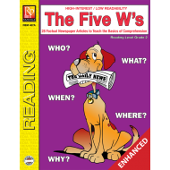 The Five W's - Reading Level 2 (Enhanced eBook)