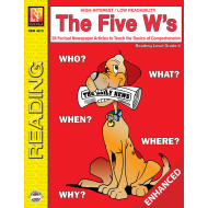 The Five W's - Reading Level 4 (Enhanced eBook)