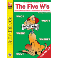 The Five W's - Reading Level 5 (Enhanced eBook)