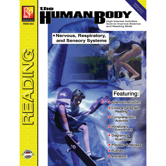 The Human Body: Nervous, Sensory, Respiratory Systems (eBook)