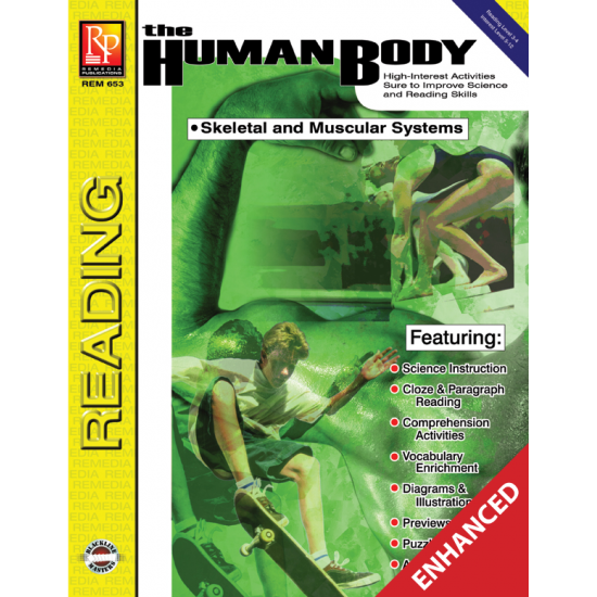 The Human Body: Skeletal & Muscular Systems (Enhanced eBook)