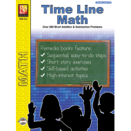 Time Line Math Word Problems & History (eBook)