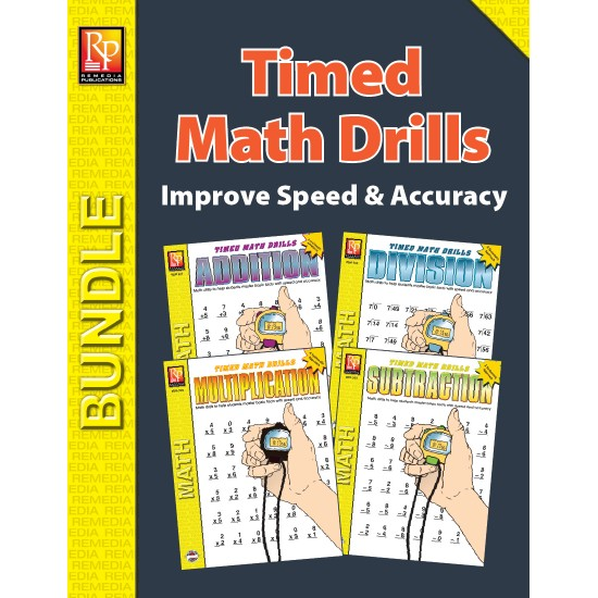 Timed Math Drills (Bundle)