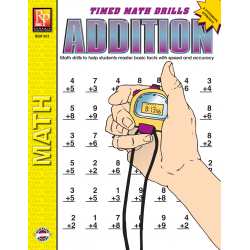 Addition: Timed Math Drills (eBook)