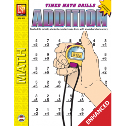 Addition: Timed Math Drills (Enhanced eBook)