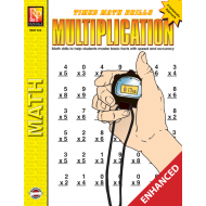Multiplication: Timed Math Drills (Enhanced eBook)