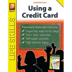 Using a Credit Card Life Skills Unit (Chapter Slice)