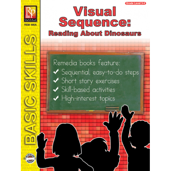 Visual Sequence: Reading About Dinosaurs (eBook)