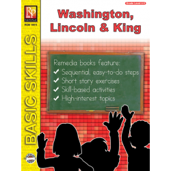 Washington, Lincoln, & Martin Luther King Unit for All Subjects - Grades 4-5 (eBook)