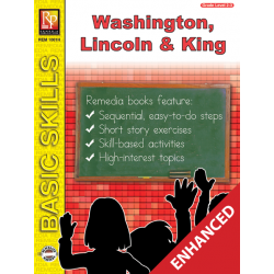Washington, Lincoln, & Martin Luther King Unit for All Subjects - Grades 2-3 (Enhanced eBook)