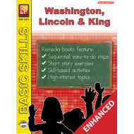 Washington, Lincoln, & Martin Luther King Unit for All Subjects - Grades 4-5 (Enhanced eBook)