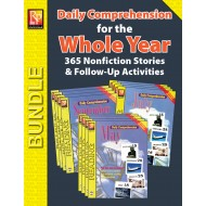 Daily Comprehension for the Whole Year (Bundle)