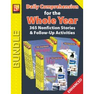 Daily Comprehension for the Whole Year (Enhanced Bundle)