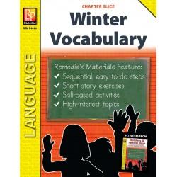 Winter Vocabulary-Builder (Chapter Slice)