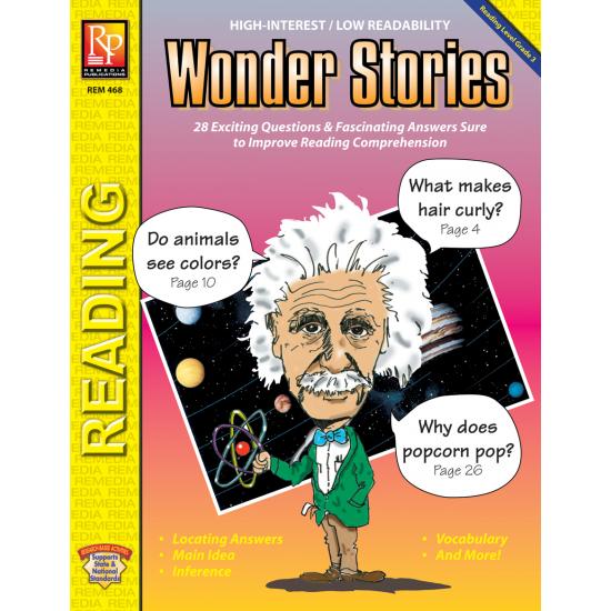 Wonder Stories - Reading Level 3 (eBook)