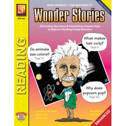 Wonder Stories - Reading Level 3 (Enhanced eBook)
