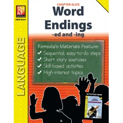 Word Endings: -ed and -ing (Chapter Slice)