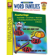 Word Families - Book 1 (eBook)