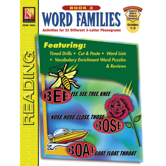 Word Families - Book 3 (eBook)