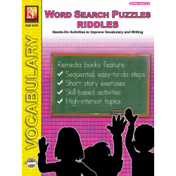 Riddles & Critical Thinking: Word Search Puzzles (eBook)