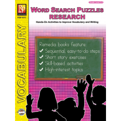 Research & Critical Thinking: Word Search Puzzles (eBook)