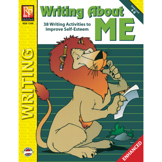 Character Development & Self Esteem: Writing About Me (Enhanced eBook)