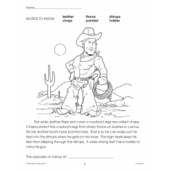 Cowboys: Thematic Skill-Builder Unit for All Subjects (Enhanced eBook)