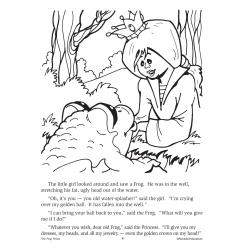 The Frog Prince: Read & Color (Enhanced eBook)
