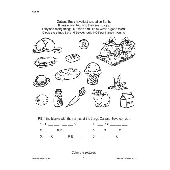 What Shall I Do Now, Teacher? - Grade 2 (eBook)
