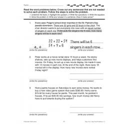 Step-by-Step Word Problems - Grades 3-4 (eBook)