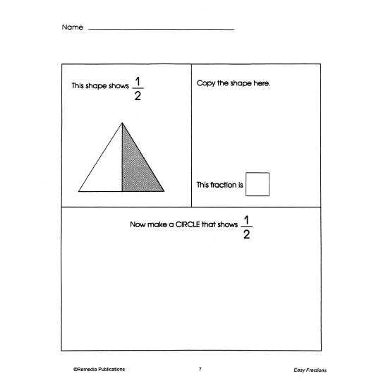 Easy Fractions (eBook)