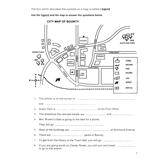 Map Skills (eBook)