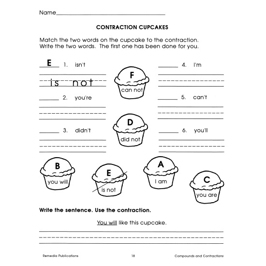 Easy Language Series: Compounds & Contractions (eBook)