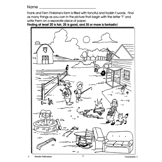 Concentration - Grades 3-4 (eBook)