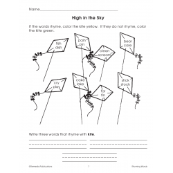 Rhyming Words - Grades 1-2 (Enhanced eBook)