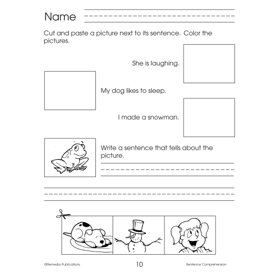 Sentence Comprehension (eBook)