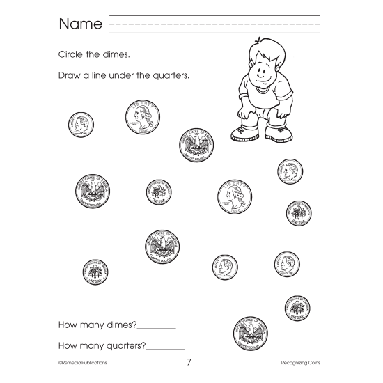 Recognizing Coins: Beginning Basic Skills (eBook)