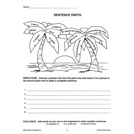 Writing Basics Series: Writing Sentences (eBook)
