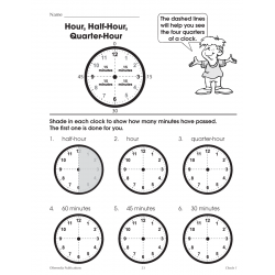 Clocks: Beginning Time Concepts (Enhanced eBook)