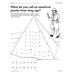 Riddle Math: Fun, Self-Checking Addition & Subtraction Practice (Enhanced eBook)