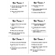 Not Trivia! Task Card Game for All Subjects (Grade 1)