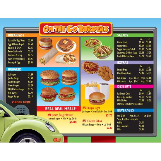 Drive-Thru Menu Math: Add & Subtract Money (Enhanced eBook)
