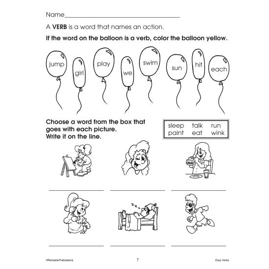 Easy Language Series: Easy Verbs (Enhanced eBook)