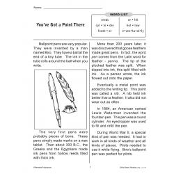 Skills-Based Reading - Reading Level 4-5 (Enhanced eBook)