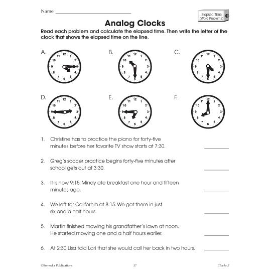 Clocks: Time Concepts (eBook)